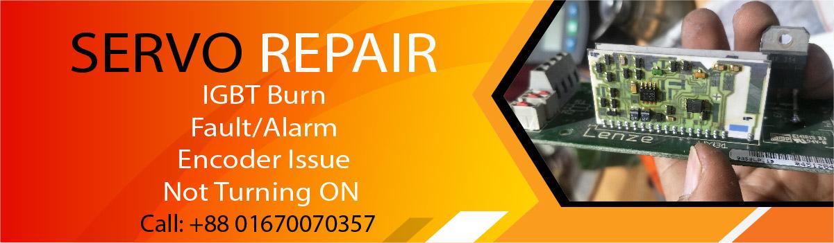 Servo Drive Repair Service in Bangladesh